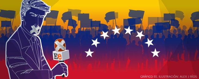 El Estímulo de Venezuela. Ilustración de Alejandro J. Ríos.