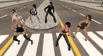 Second Life. El caso de Aenea Nori, en 2007.