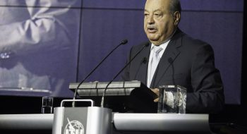 ITU Pictures, Flickr. President, Carlos Slim Foundation and Chairman, Grupo Carso speaking at the WTISD 2014 Award Ceremony.