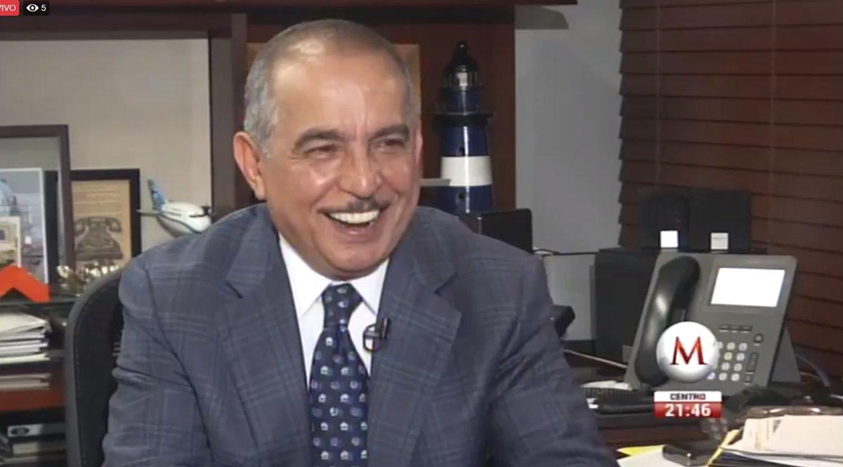 Carlos Marín, como director editorial de Grupo Milenio. Captura de pantalla de Milenio TV.