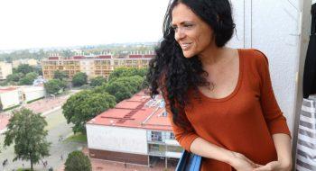 Paula Sibilia, fotografiada en Ciudad Universitaria de la Ciudad de México en septiembre de 2016. Foto de Hugo Salazar para El Economista.