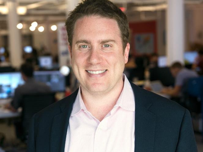 Ben Smith, editor en jefe de BuzzFeed.