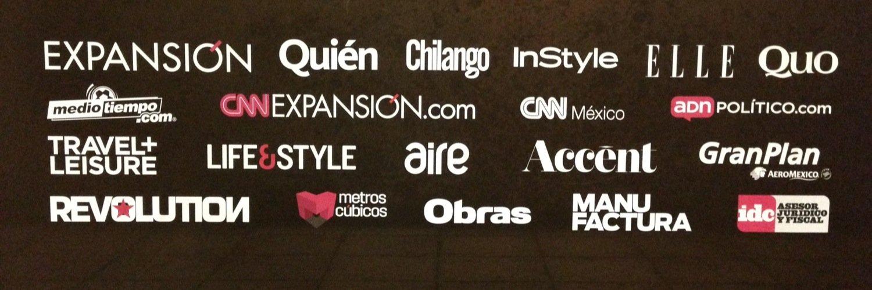 Las marcas de Grupo Expansión, a abril de 2015.
