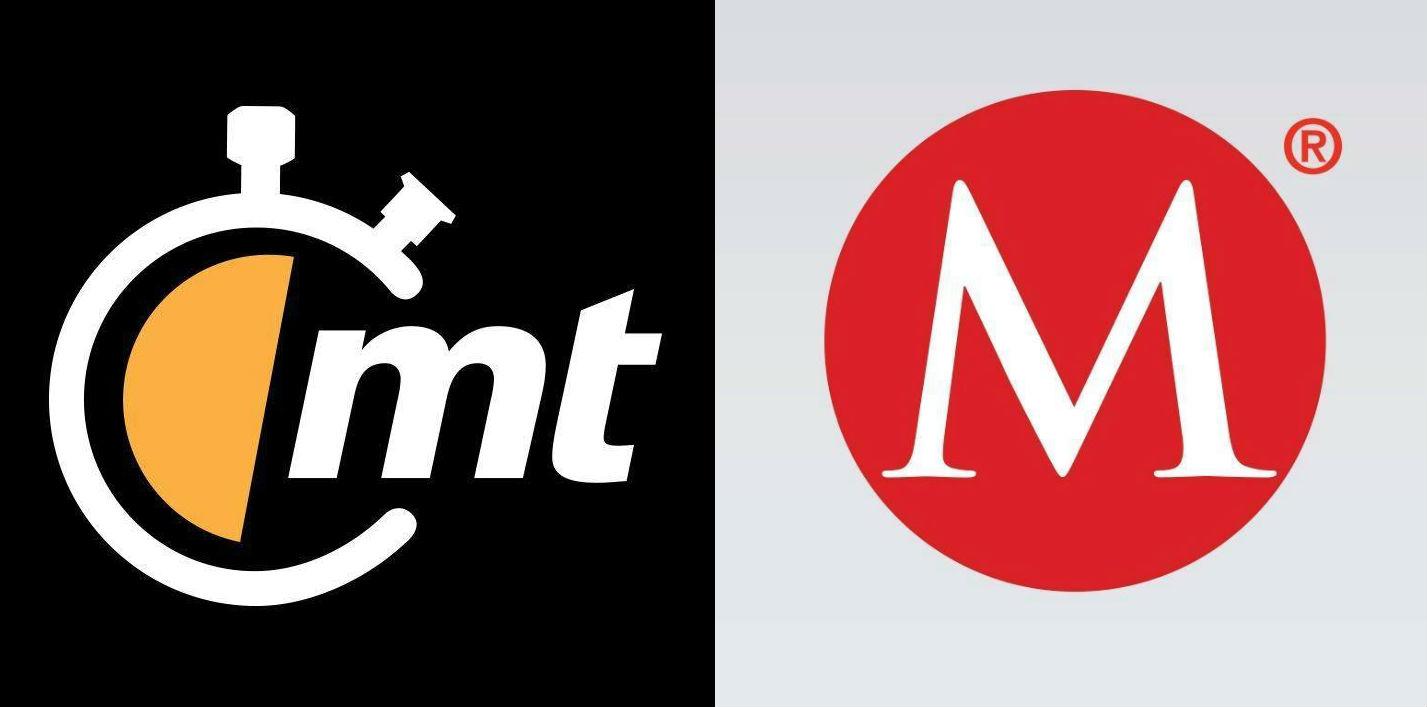 Logotipos de Mediotiempo y Milenio, tomados de sus páginas en Facebook.