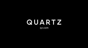 Quartz (qz.com), logotipo.