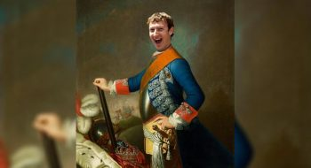 El monarca Mark Zuckerberg.