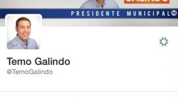 El alcalde Temo Galindo @temogalindo bloqueó en Twitter a un ciudadano de Nogales.