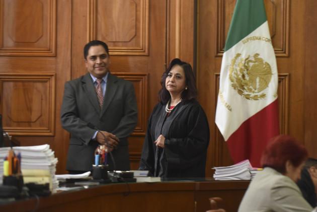 Norma Lucía Piña Hernández, ministra de la Suprema Corte de Justicia de la Nación, en imagen de archivo.