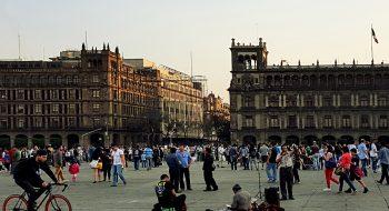 Zocalo, Mexico City. Flickr de CCNincic, licencia Creative Commons.