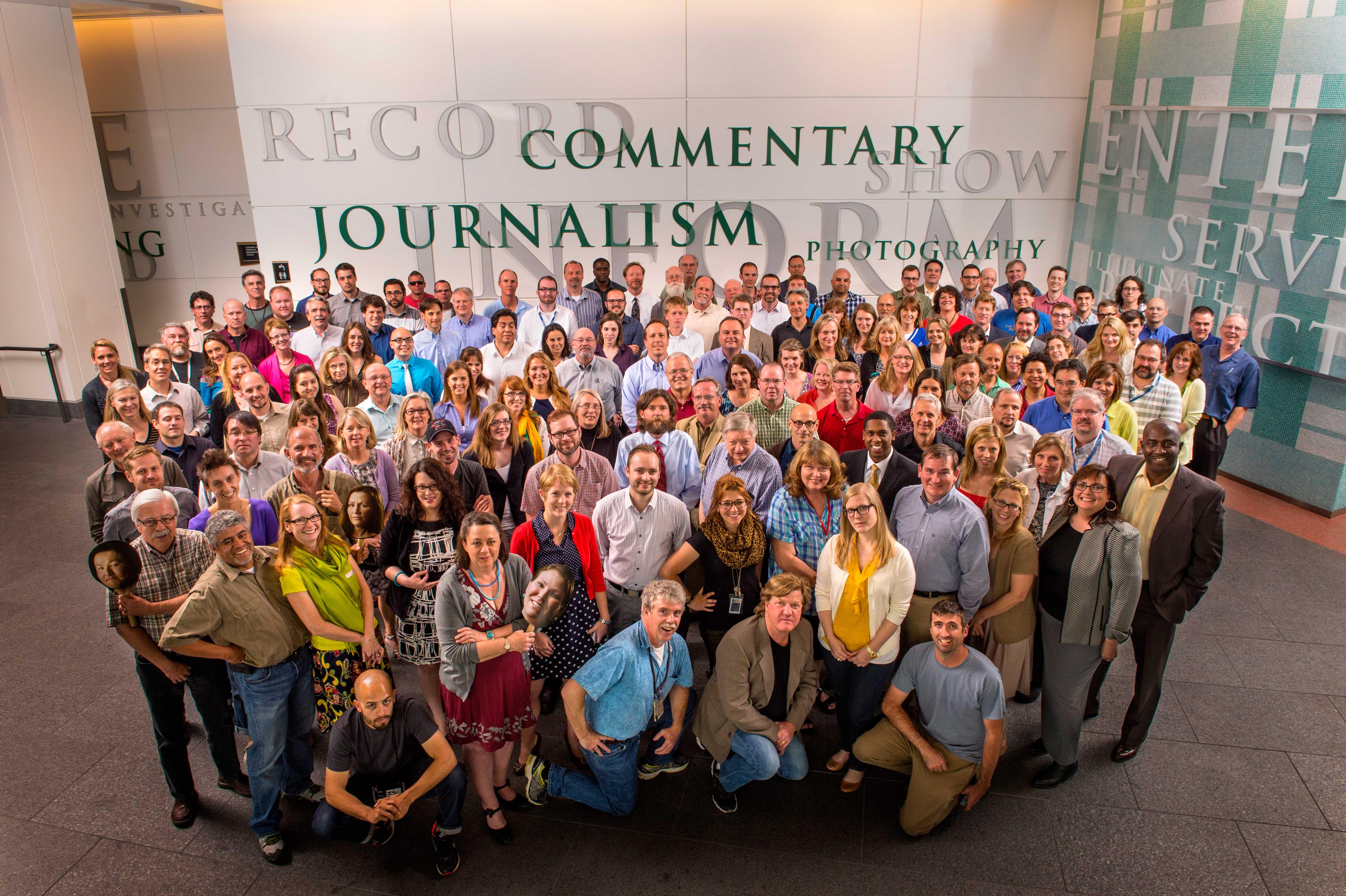 El homenaje de The Denver Post a los compañeros despedidos de la Redacción
