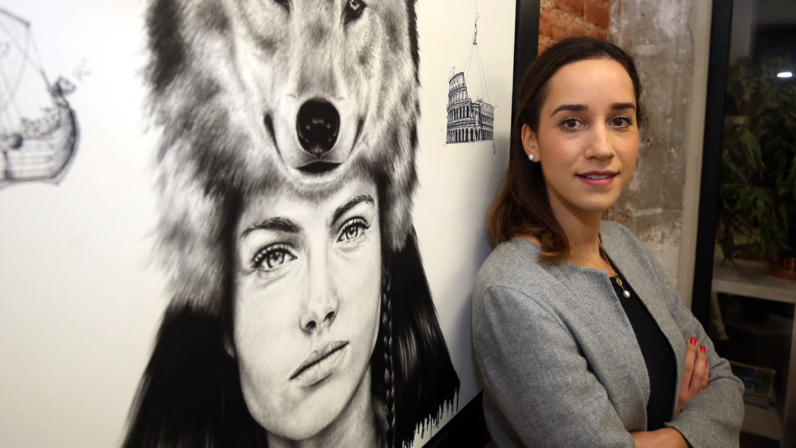 Sofía Torres, fundador de Telokwento. Foto de Eric Lugo de El Economista.