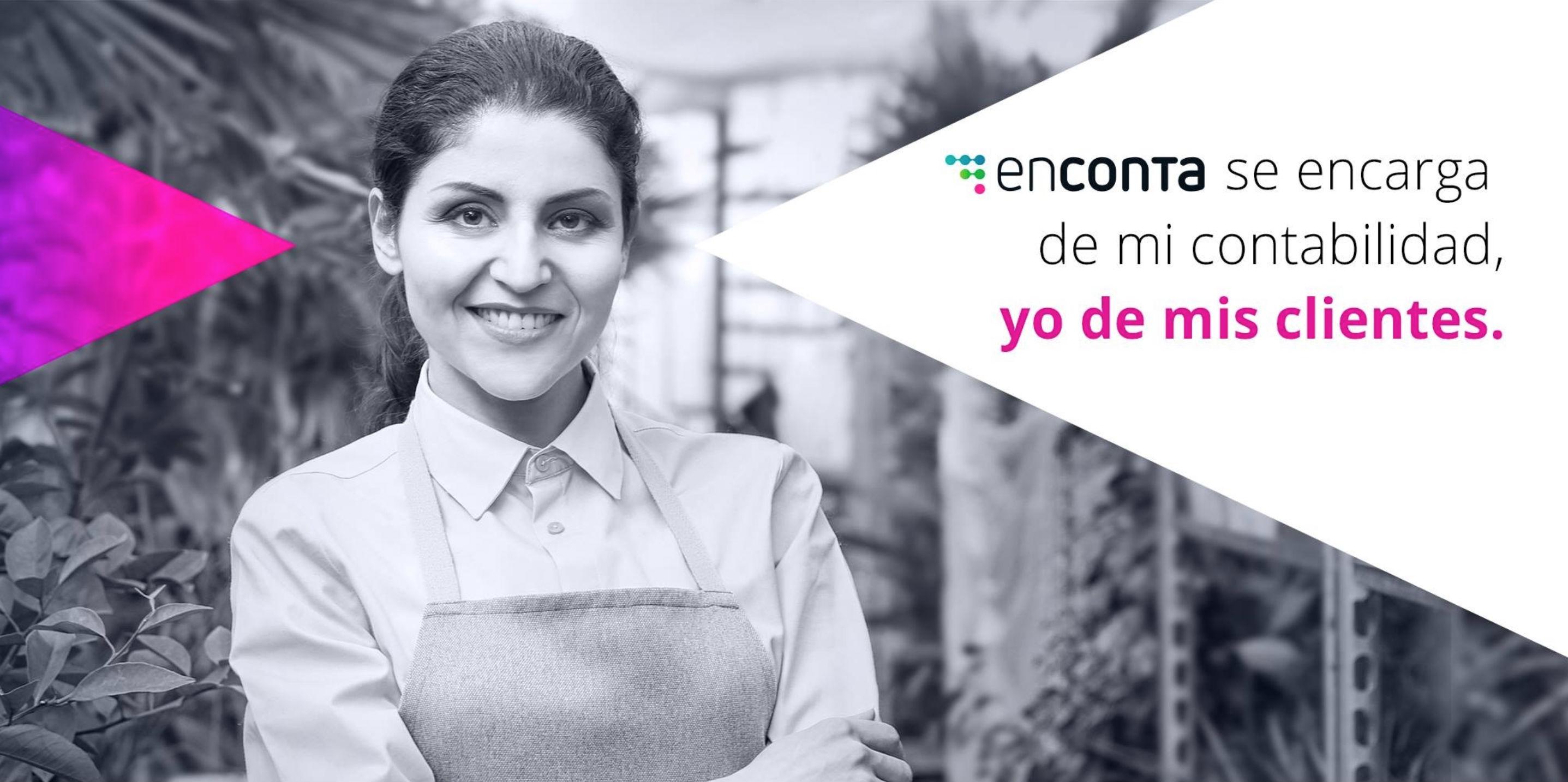 Imagen publicitaria de Enconta, tomada de su página en Facebook.
