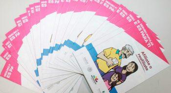 Imaip inicia verificación de oficio por filtración de datos en Michoacán. En la imagen, folletos del Seguro Popular de Michoacán.