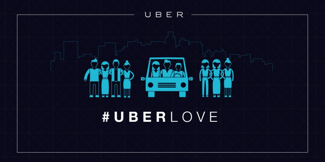 Uber, imagen corporativa, tomada de su sitio web en México.