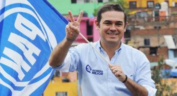Alejandro Navarro Saldaña fue electo el 1 de julio de 2018 para gobernar la ciudad de Guanajuato entre 2018 y 2021. Asumió el cargo el 10 de octubre de 2018. Foto: tomada del Facebook de Navarro