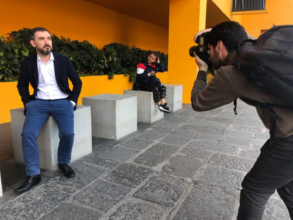 Ignacio Escolar, periodista y fundador de eldiario.es. Foto: José Soto Galindo