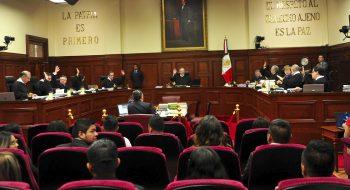 Pleno de la Suprema Corte de Justicia de la Nación (SCJN). Esta es una imagen de archivo, distribuida por la agencia Cuartoscuro.